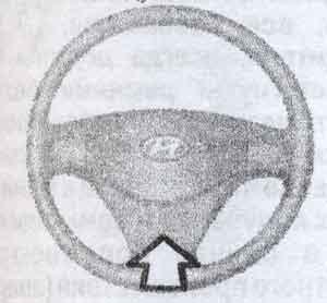 фронтальная подушка безопасности Hyundai Verna, фронтальная подушка безопасности Hyundai Accent