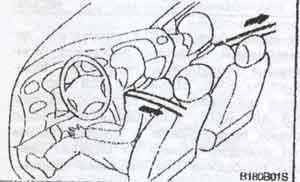 ремни безопасности Hyundai Matrix, ремни безопасности Hyundai Lavita