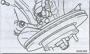 датчик оборотов колеса Hyundai Accent