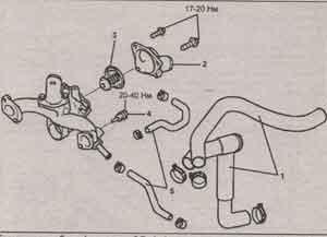 термостат в сборе Hyundai Sonata