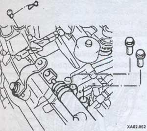тяга коробки передач Hyundai Accent