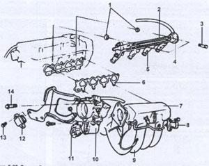 Выпускной коллектор Hyundai Sonata