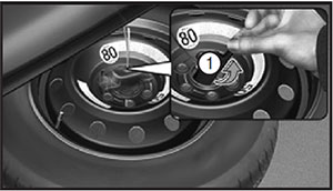Запасное колесо Hyundai Santa Fe