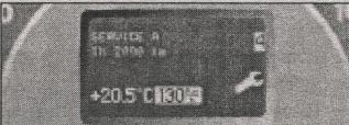 индикатор проведения техобслуживания Mercedes Vito