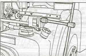 опускание кабины Iveco Stralis