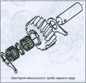 вексель заднего хода Iveco TurboDaily