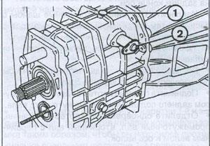 вторичный вал Iveco TurboDaily