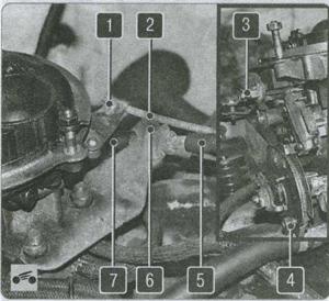 карбюратор ГАЗ 2310, ГАЗ 2752, ГАЗ 2217, воздушный фильтр ГАЗ 2310