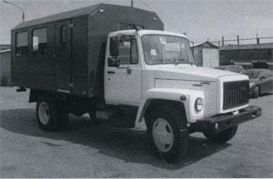 автомобиль ВМ-3284 на шасси ГАЗ-3309
