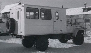 автомобиль ВМ-32841 на шасси ГАЗ-3308