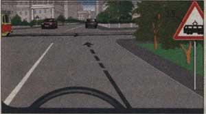 видимость трамвайных путей