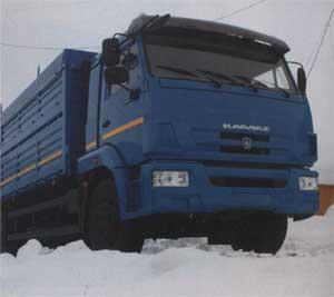 зерновоз КамАЗ-65117 Евро-3