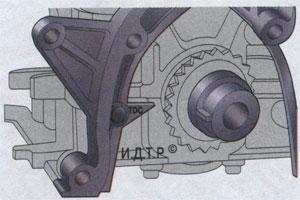 цепь газораспределительного механизма Kia Ceed
