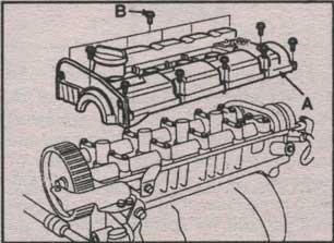 головка цилиндров Kia Cerato