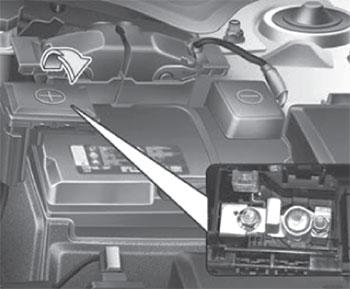 Предохранитель аккумулятора Kia Soul