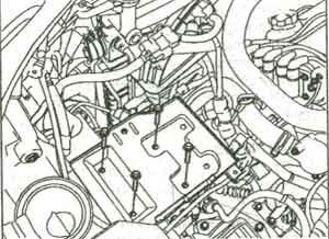шланг радиатора Kia Sportage