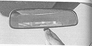 Внутреннее зеркало Kia Sportage