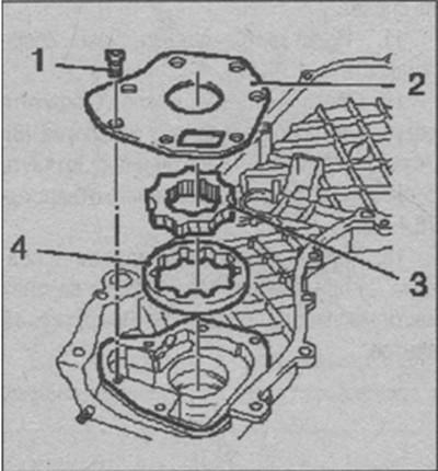 конструкция масляного насоса Opel Astra H
