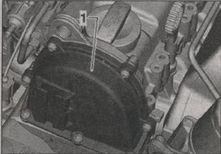 крышка корпуса привода ГРМ Volkswagen Golf Plus