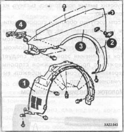 переднее крыло Hyundai Sonata
