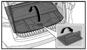 Напольная панель Lexus NX