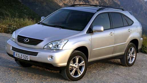 автомобиль lexus rx400