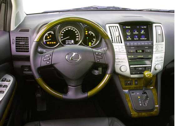 салон Lexus rx400, панель приборов Lexus rx400