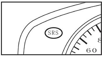 Сигнальный индикатор системы пассивной безопасности Lifan MyWay