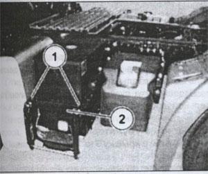 аккумуляторный отсек MAN TGS, аккумуляторный отсек MAN TGX