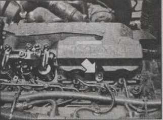 крышка головки блока цилиндров MAN L2000