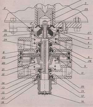 тормозной кран МАЗ 437040