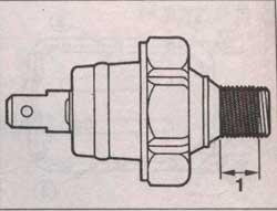 датчик давления масла Mazda 626