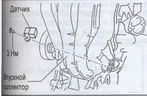 датчик впускного коллектора Mazda 6