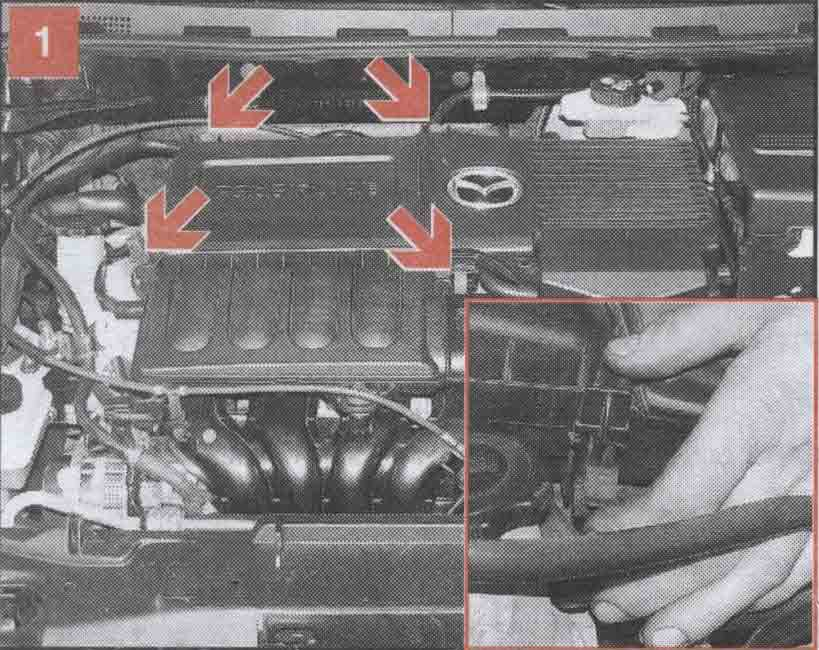 воздушный фильтр Mazda 3