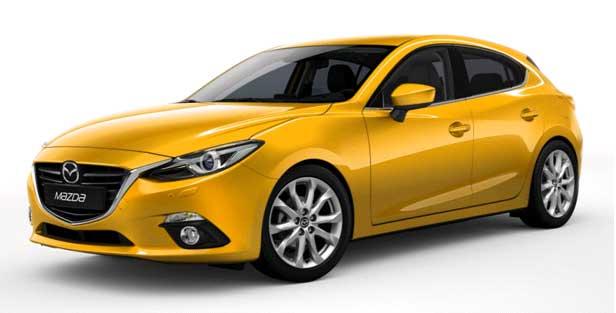 автомобиль Mazda 3 NEW