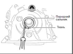 поверхность коленвала Mazda 6