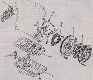 шкив коленвала Mazda