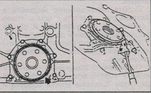 задний сальник Mazda