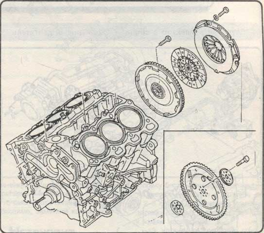 маховик Mazda 626
