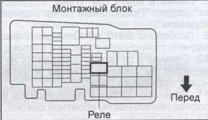 монтажный блок Mazda 6