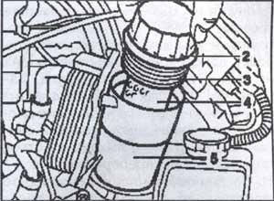 масляный фильтр дизельного двигателя Mercedes Gelandevagen W463