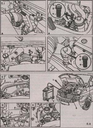 фильтрующий элемент Mercedes Sprinter