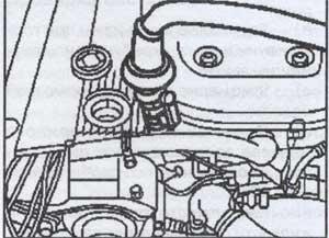 сливная пробка картера масла Mercedes Gelandevagen W463