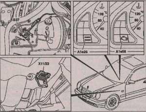 клапан адсорбера Mercedes-Benz C-Class
