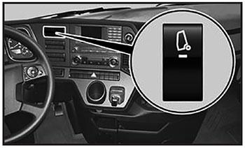 Электрогидравлический опрокидывающий механизм кабины Mercedes Actros
