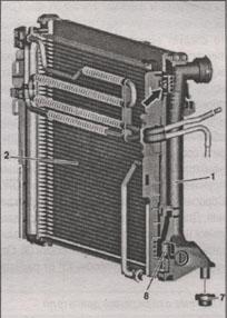 радиатор Mercedes GLK-Class
