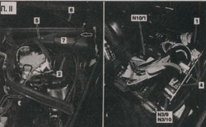 разблокирование крышки Mercedes-Benz C-Class W203