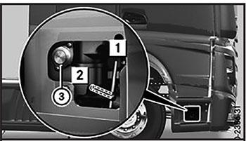 Рычаг клапана Mercedes Actros с 2012 года