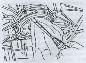 сальник коленвала Mercedes-Benz 207D