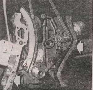 шкив коленвала Mercedes 124 Е-class